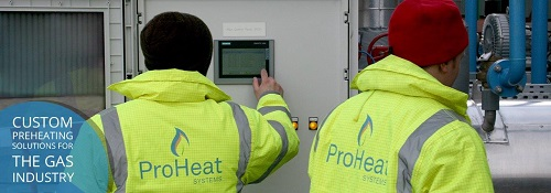 Custom Preheating Solutions for the Gas Industry