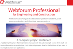 Project dashboard for Engineering and Construction
